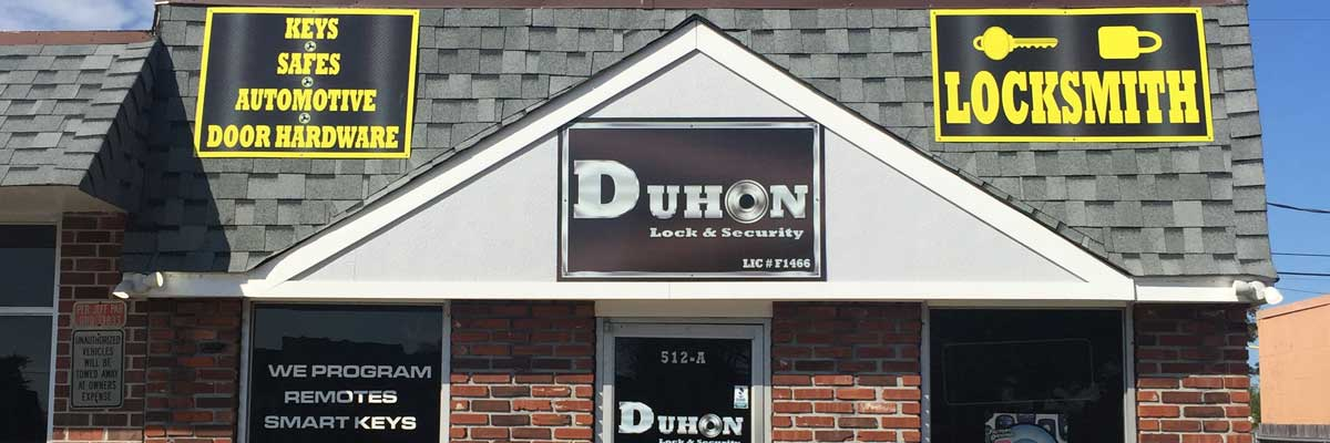 Duhon Lock & Security front building
